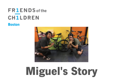 Miguel's Story - Finding His Spark with Friends-Boston