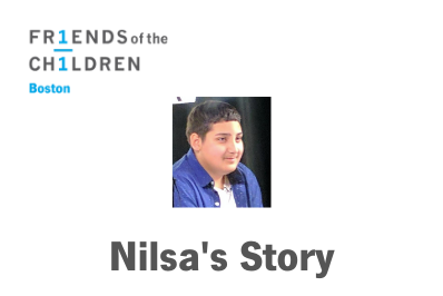 Nilsa's Story - A Parent's Journey with Friends-Boston